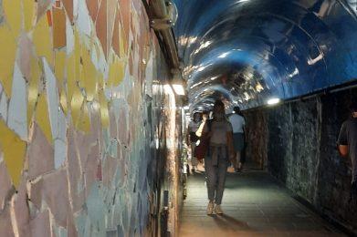 tunnel 5 terre stazione riomaggiore